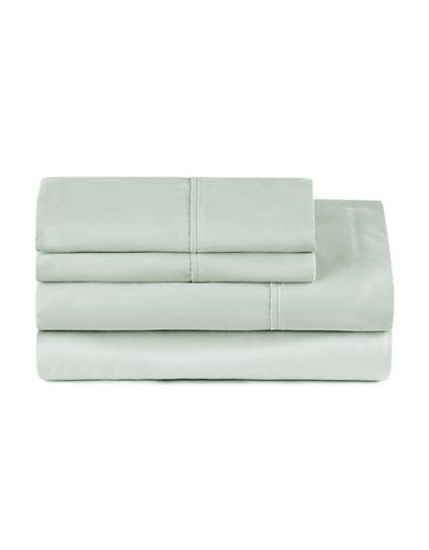 Distinctly Home Four-Piece 400 Thread-Count Egyptian Cotton Sheet Set-CELADON-Double