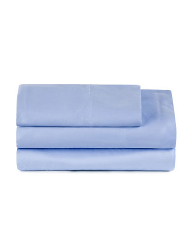 Distinctly Home 300 Thread-Count Cotton Sheet Set-FOREVER BLUE-Twin XL