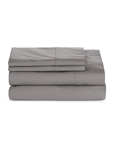Glucksteinhome Four-Piece 300 Thread-Count Sheet Set-DRIZZLE-Twin