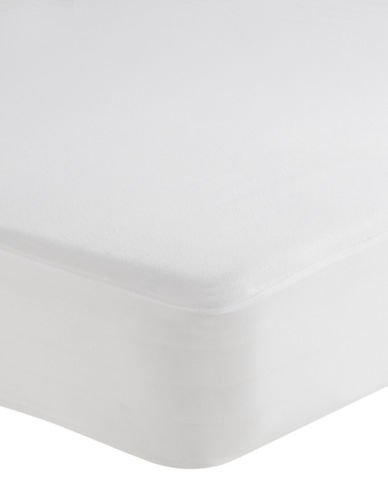 Cleanrest Waterproof Mattress Protector-WHITE-Queen