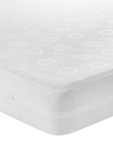 Cleanrest SIMPLE Mattress Encasement-WHITE-Queen