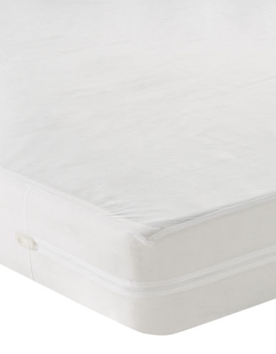 Cleanrest SIMPLE Box Spring Encasement-WHITE-Queen