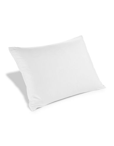 Cleanrest Zip N Click Pillow Encasement-WHITE-King