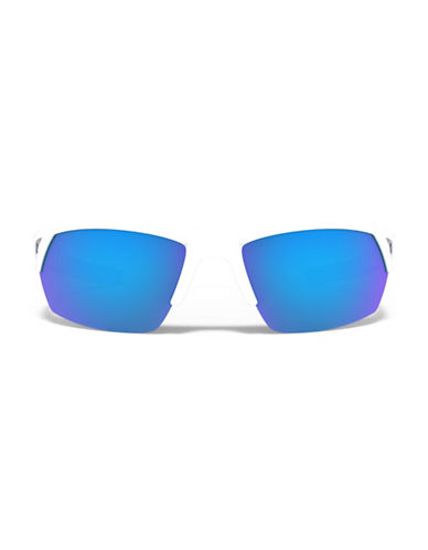 Under Armour Igniter 66mm Mirrored Sunglasses-WHITE/BLUE-One Size