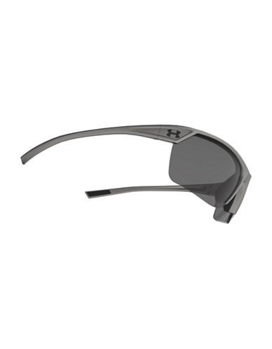 Under Armour Zone 65mm Mirrored Sunglasses-SATIN GREY-One Size 88255447_SATIN GREY_One Size