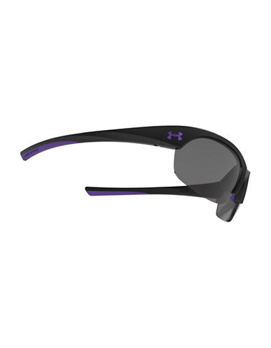 Under Armour Marbella 62mm Square Sunglasses-BLACK-One Size