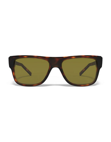 Under Armour Regime 53mm Wayfarer Sunglasses-TORTOISE/GREEN-One Size