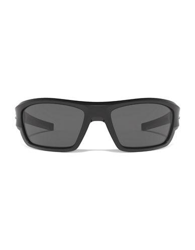 Under Armour Force 37mm Biker Sunglasses-BLACK/GREY-One Size