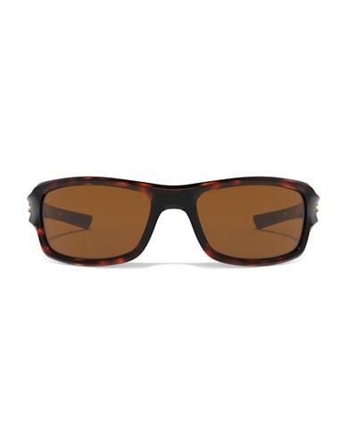 Under Armour Edge 56mm Biker Sunglasses-TORTOISE-One Size