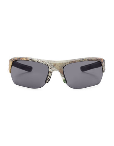 Under Armour Big Shot 65mm Sunglasses-BLACK-One Size