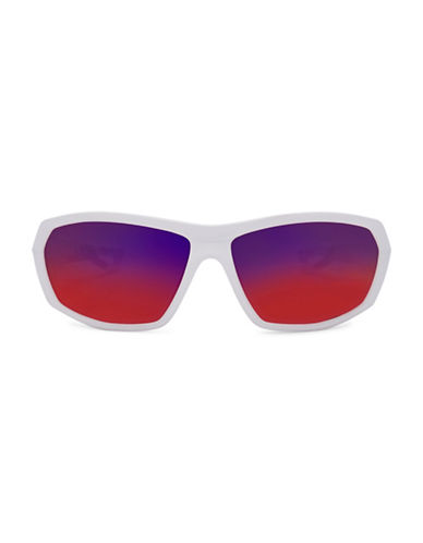 Under Armour Rage 63mm Sunglasses-WHITE-One Size