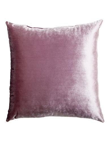 Glucksteinhome Henson Velvet Cushion-LAVENDER-20x20