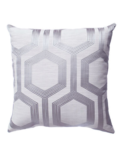 Home Outfitters Tribeca Decorative Cushion-GREY-20x20