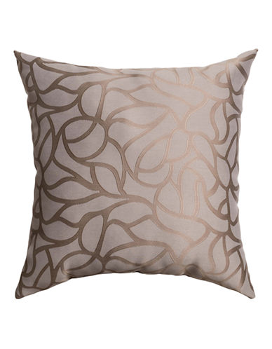 Home Outfitters Barcelona Printed Pillow-TAUPE-18x18