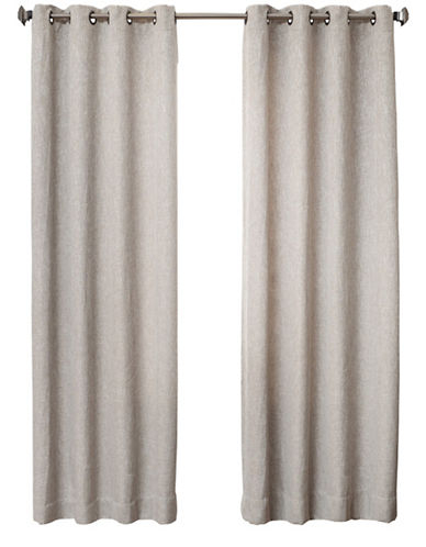 Distinctly Home Britton 84-Inch Grommet Drape-LINEN-84 inches
