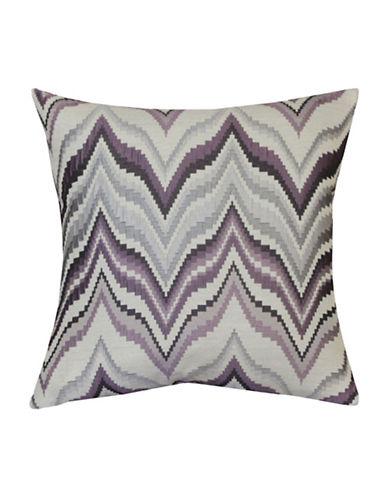 Softline London Feather Cushion-PURPLE-One Size