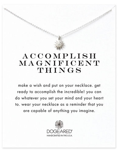Dogeared Reminder-SILVER-One Size