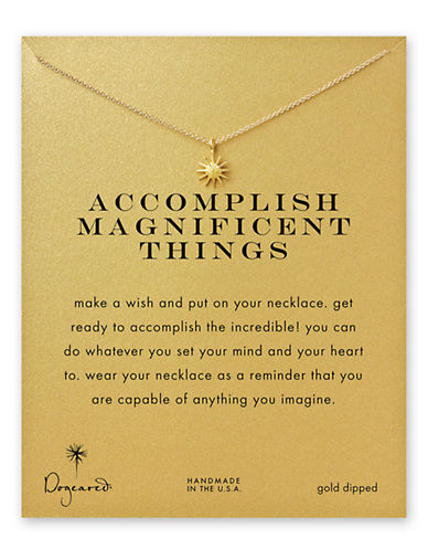 Dogeared Reminder-GOLD-One Size