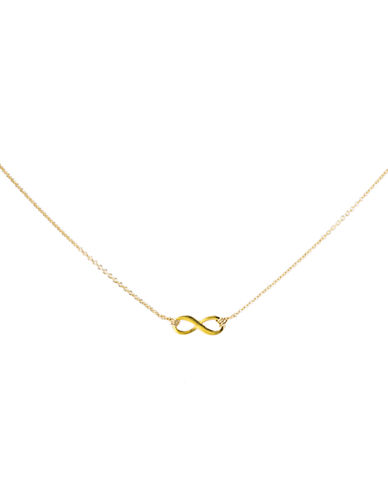 Dogeared Infinite Love Necklace-GOLD-One Size