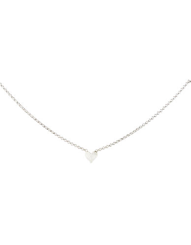Dogeared Maid of Honor Simple Heart-SILVER-One Size