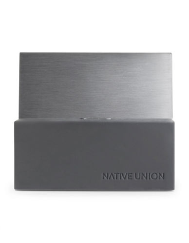 Native Union iPhone and iPad Dock-GREY-One Size