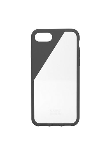 Native Union Clic Wooden iPhone 7 Case-GREY-One Size