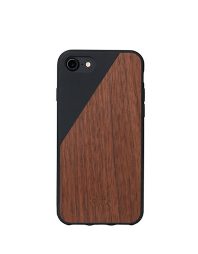 Native Union Clic Wooden iPhone 7 Case-BLACK-One Size
