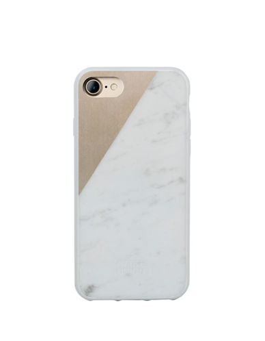 Native Union Clic Marble iPhone 7 Case-GOLD-One Size