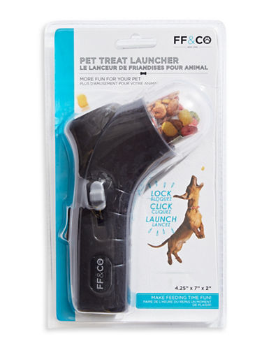 Furry Friends And Co Pet Treat Launcher-BLACK-One Size