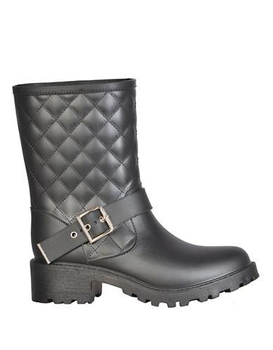 Dav Dublin Moto Boots-BLACK-8