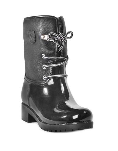 Dav Calgary Faux Shearling Mid-Calf Boots-BLACK-6
