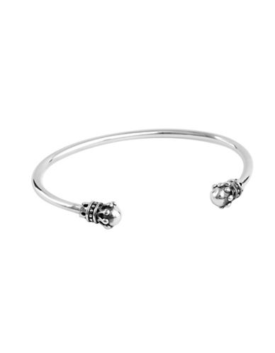 King Baby Studio Sterling Silver Wire Cuff Bracelet-SILVER-One Size