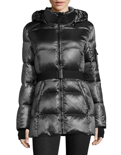 S13 Belted Down-Filled Coat-MIDNIGHT-Large