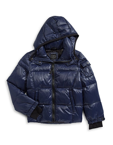 S13 Down Puffer Jacket-NAVY-10