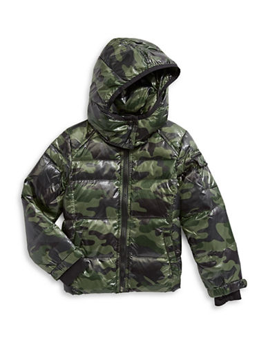 S13 Camouflage Downhil Jacket-GREEN-4