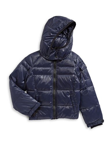 S13 Classic Puffer Jacket-BLUE-2