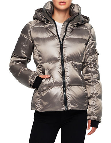 S13 Radiant Puffer Coat-SILVER-X-Large