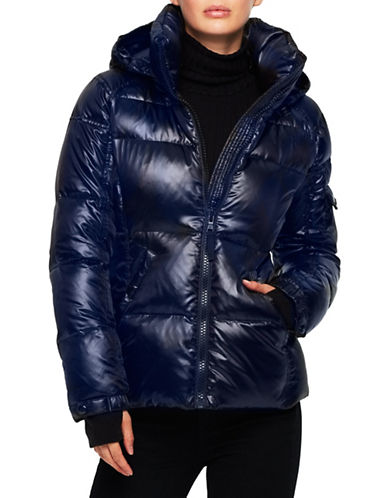 S13 Radiant Puffer Coat-MIDNIGHT-Medium