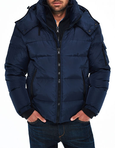 S13 Downhill Down Jacket-NAVY-Small