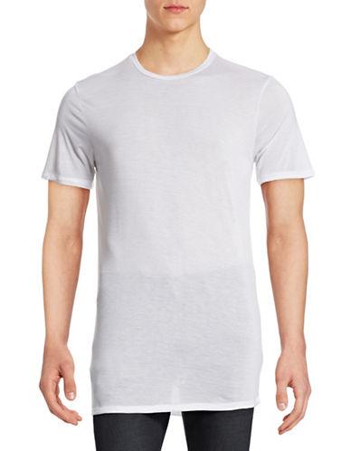 Drifter Ruin Crew Neck T-Shirt-WHITE-Medium 88331443_WHITE_Medium
