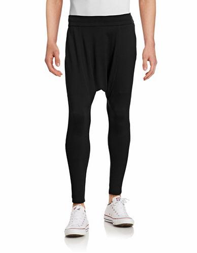 Drifter Gryphon Drop Crotch Knit Pants-BLACK-X-Large 88331417_BLACK_X-Large