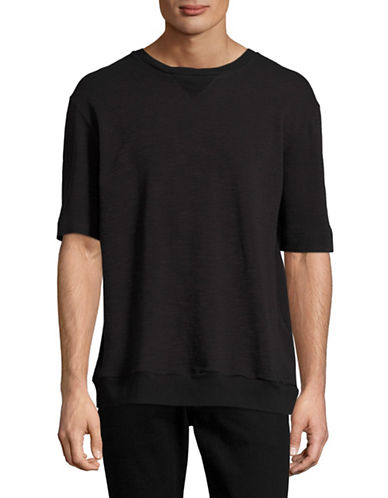 Drifter Kanan Textured T-Shirt-BLACK-Small 88958354_BLACK_Small