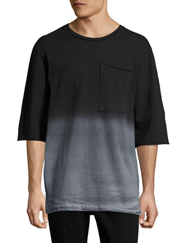 Drifter Ombre T-Shirt-BLACK-X-Large