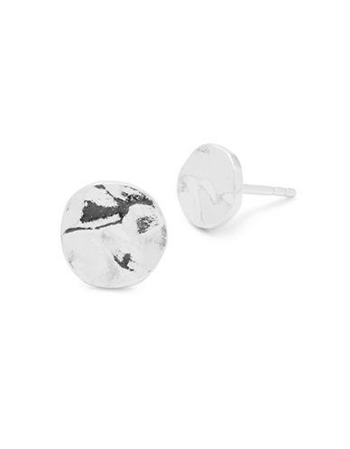 Gorjana Core Chloe Silverplated Stud Earrings-SILVER-One Size
