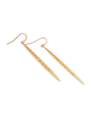 Gorjana Dagger Drop Earrings-GOLD-One Size