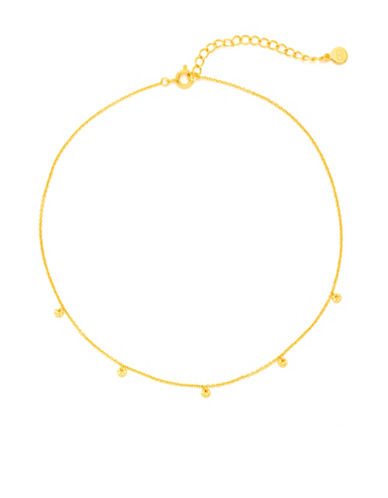 Gorjana Best Sellers 18K Goldplated Choker Necklace-GOLD-One Size