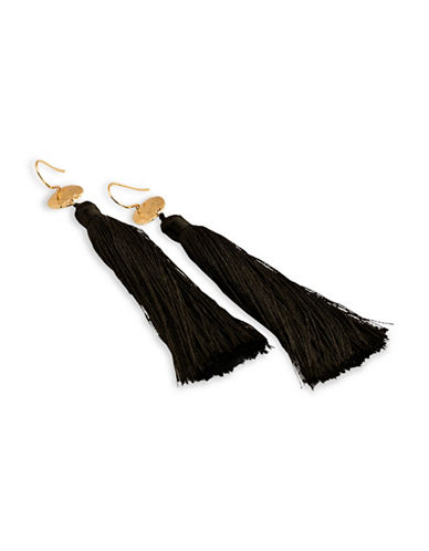 Gorjana Tassel Drop Earrings-GOLD-One Size
