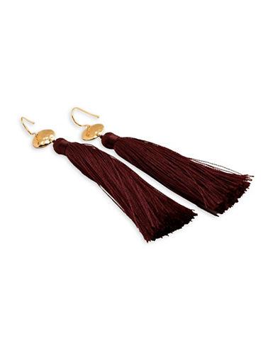 Gorjana Tassel Drop Earrings-GOLD-One Size
