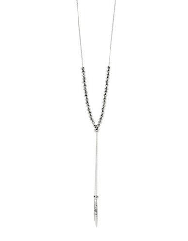 Gorjana Laguna Dagger Pendant Necklace-SILVER-One Size