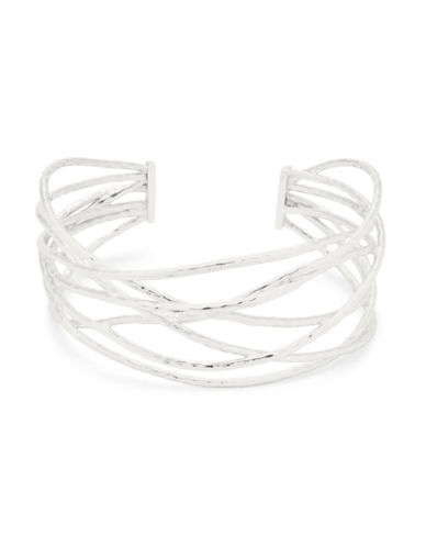Gorjana Core Lola Silverplated Cuff Bracelet-SILVER-One Size